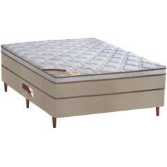 CAMA BOX QUEEN SIZE MOLA ENSACADA REVOLUCTION158X198X70